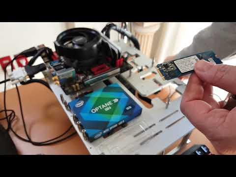 Como Instalar Intel Optane SSD 800P NVMe en AMD Ryzen 2000 Parte 1