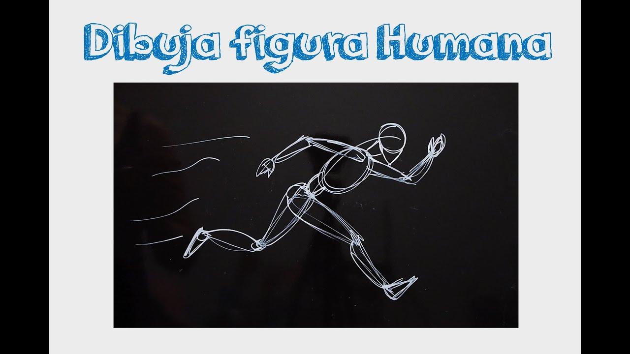 Clases de Dibujo figura humana pose corriendo  YouTube