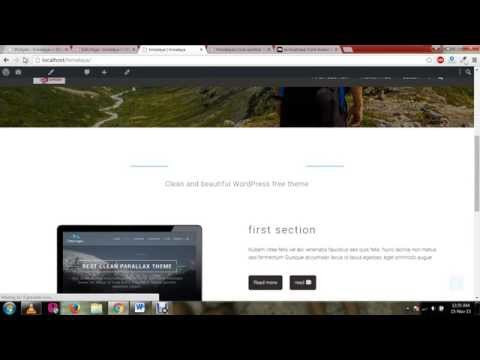 Himalaya WordPress Theme Tutorial 1