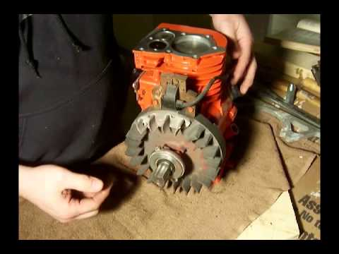 #14 - Briggs and Stratton 5HP 130202 - Ignition gapping and checking for  spark