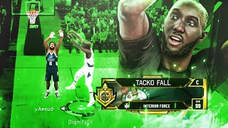 "99 OVR 7'6"" TACKO FALL RETURNS AND DOMINATES 1V1 RUSH EVENT! GAME BREAKING CENTER BUILD!"