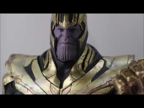 [First Look] Hot Toys- Avengers: Endgame -Thanos 1/6th Collectible Figure Prototype
