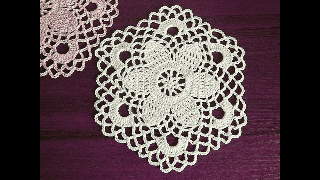Crochet Motif Tutorial Part 2 7 11 Round Youtube
