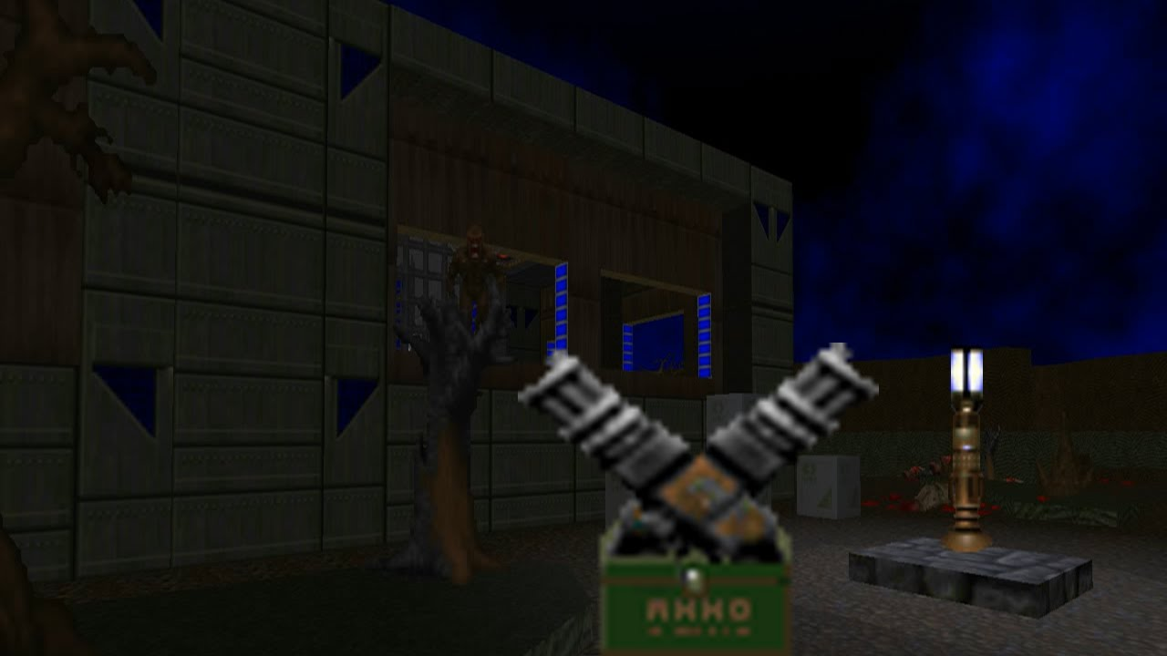 Doom With Chaingunners Wad Packmap 03 Youtube