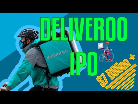 Deliveroo IPO | Deliveroo Upcoming Flotation 🎈 in 2 Minutes