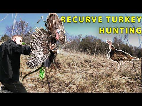 BUDS, BIRDS & RECURVES homemade bow hunting turkeys