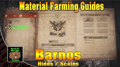 Monster Hunter World - Where to Farm Barnos Hides and Talons