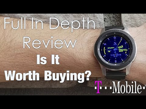 Samsung Galaxy Watch LTE Model 2018 - Full Review