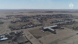 Последствия пожаров в Забайкальском крае — видео с беспилотника