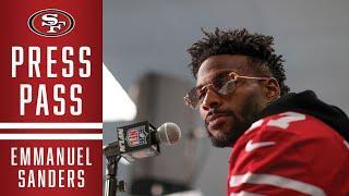 Emmanuel Sanders Talks About Offensive Coach Katie Sowers | 49ers