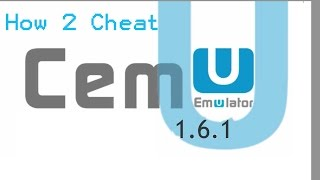 [Cemu 1.6.1] New Tutorial How to Cheat on Wii U ! Cemu Utilities Introduction! Links in description Video
