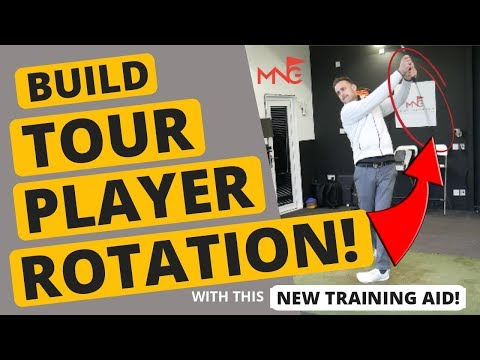 Build Tour Player Rotation With This Simple Golf Training Aid!