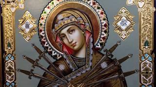 Икона Богородица Именуемая Умягчение Злых Сердец Сумская Икона Обзор Готовой Иконы Храм