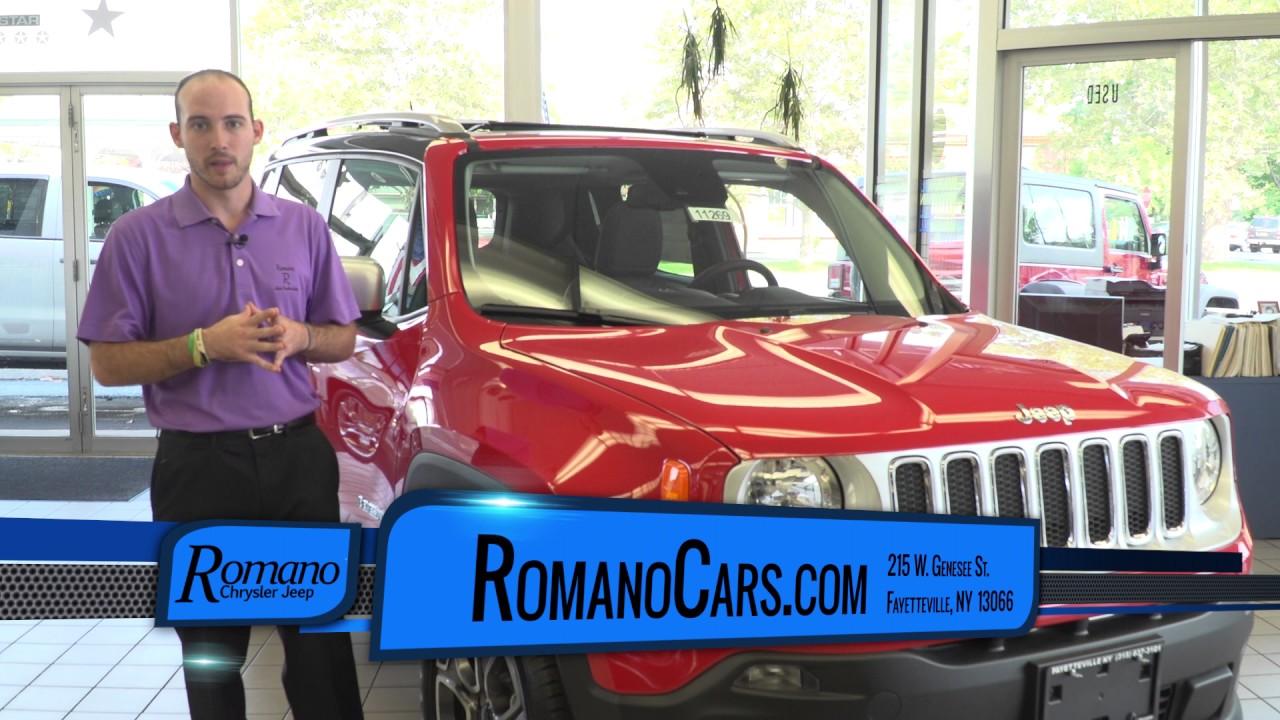 2017 Jeep Renegade Syracuse, NY | Jeep Dealer Syracuse, NY