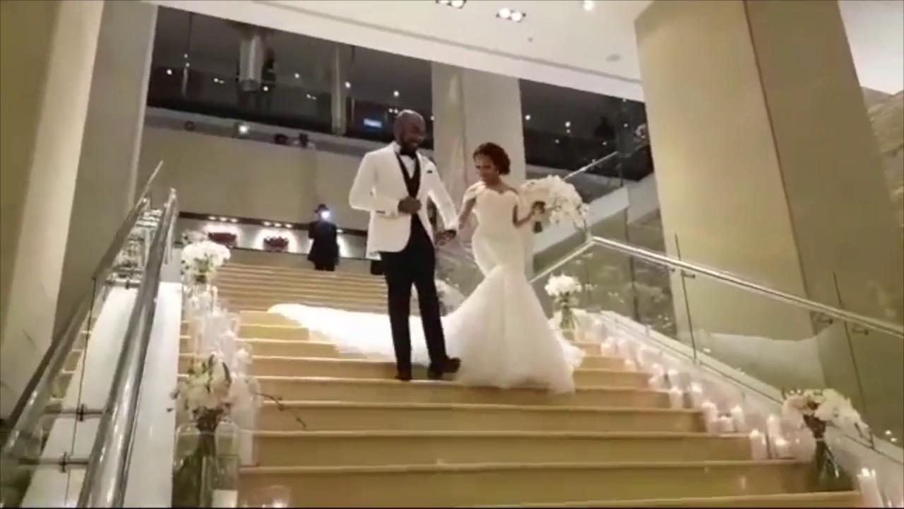 Download BANKYW & ADESUA ETOMI WHITE WEDDING IN SOUTH AFRICA   BAAD2017