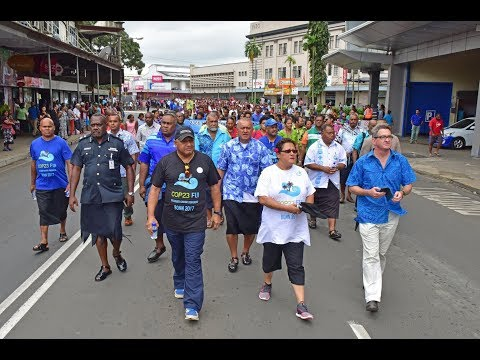 Fijian Prime Minister officially closes the National Climate Change Week.