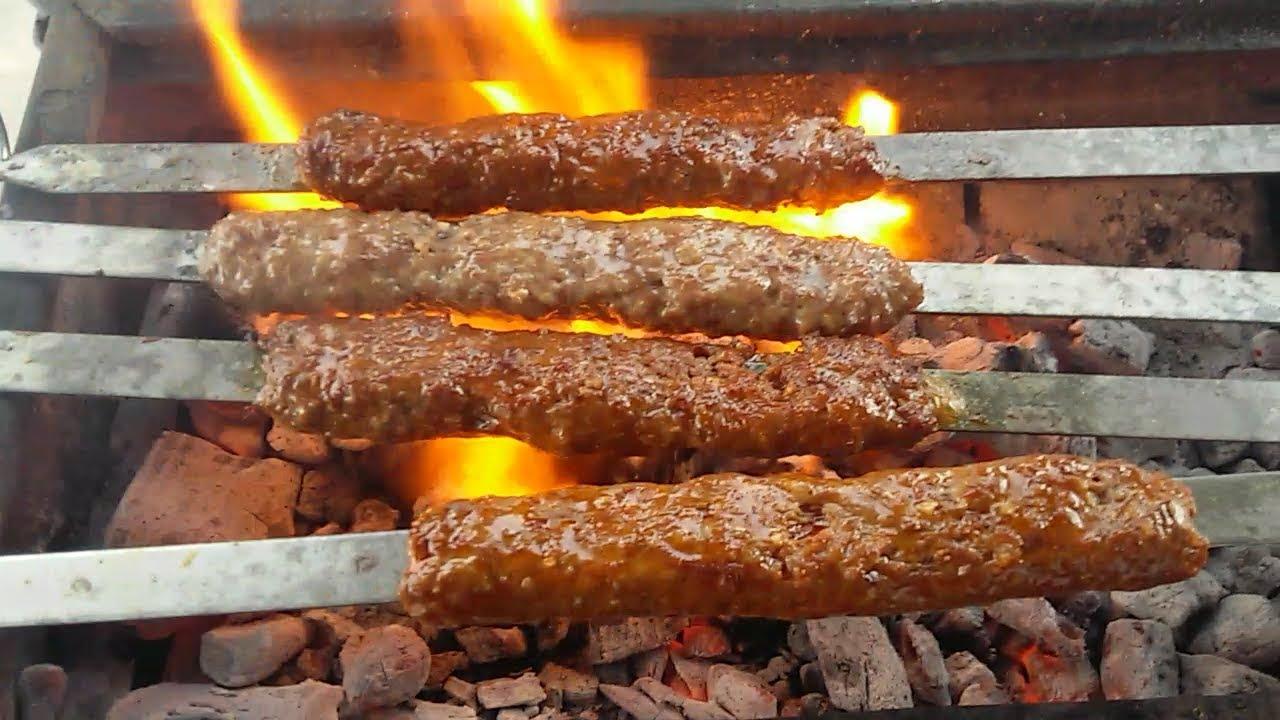 Ev yapımı Adana kebap