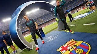 BEHIND THE SCENES – The build up to FC Barcelona against Celtic