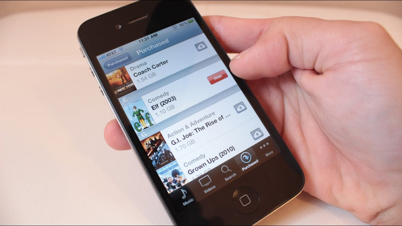 TIP: Hide Unwanted Purchases on your iTunes Account