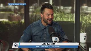 MLB Network's Nick Swisher on the Time He Saw Rich at an Escape Room | The Rich Eisen Show | 7/6/18