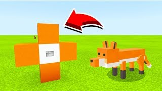 How To Spawn FOXES In Minecaft Pocket Edition/MCPE