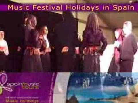 MUSIC FESTIVAL HOLIDAYS IN SPAIN