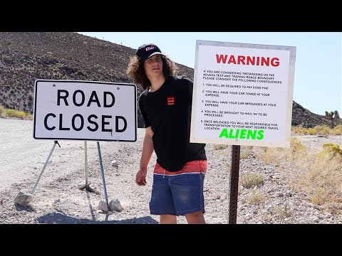 roads-closed-at-area-51-(sneaking-through)