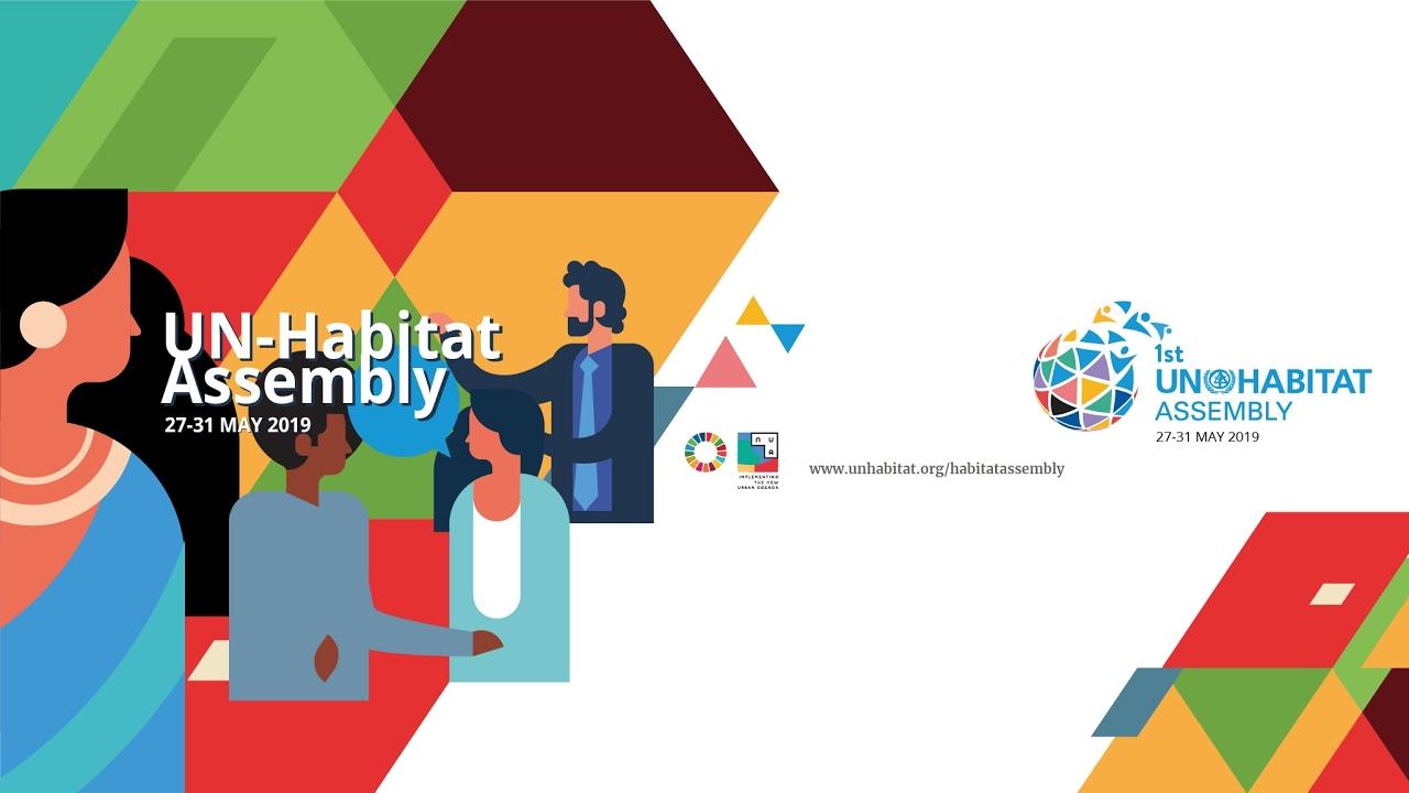 UNHA: 1st Session of the UN-Habitat Assembly High Level Segment - English  Language