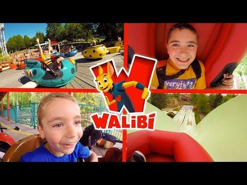 VLOG - Manèges et Sensations entre Frères à WALIBI Parc d'Attractions - 1/2
