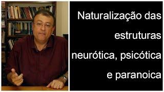Naturalização das estruturas neurótica, psicótica e paranoica? | Christian Dunker | Falando nIsso 63 thumbnail