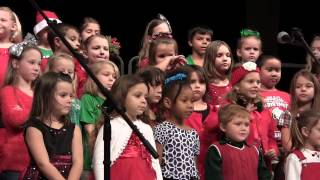 Zoe Deerpoint Elementary Christmas Program Dec.2014 Part 1