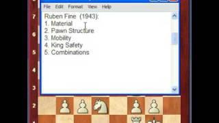 Chess Lesson #11, Part A (Position Evaluation: Introduction)