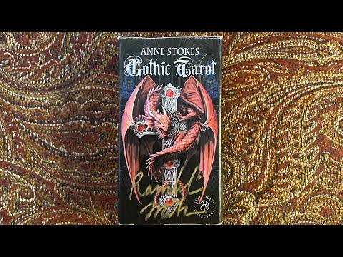 "Ramblin Mike's Modified Tarot: ""Anne Stokes Gothic Tarot"""