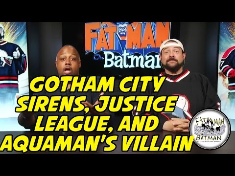 GOTHAM CITY SIRENS, JUSTICE LEAGUE, AND AQUAMAN'S VILLAIN