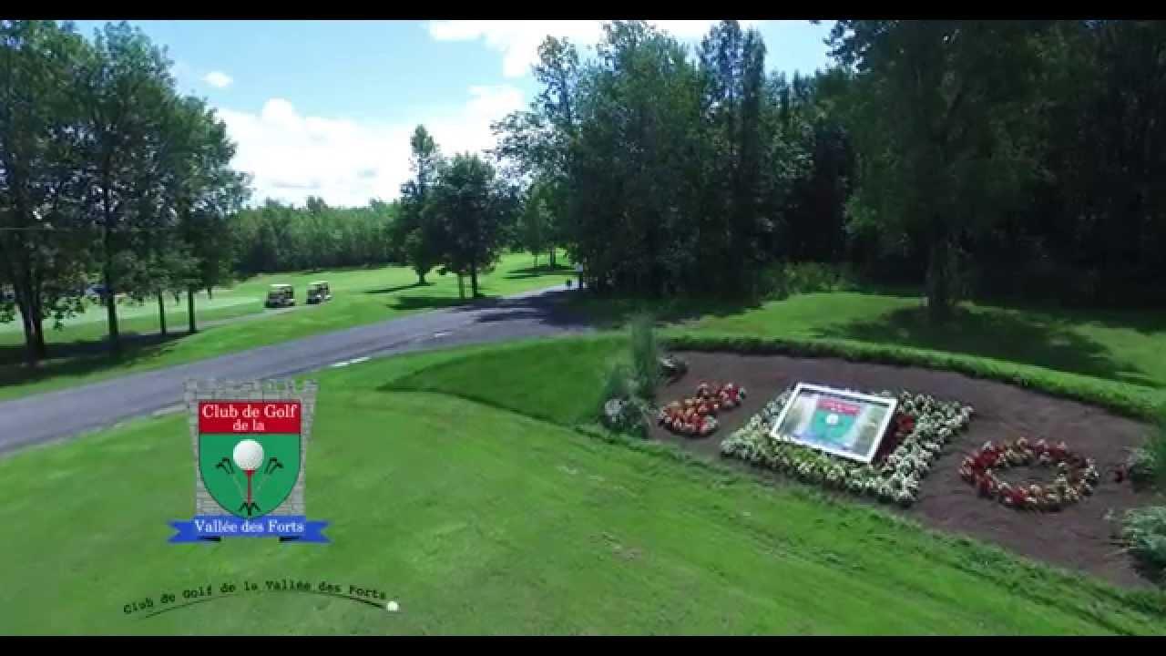 Golf Vallée des Forts - Parcours de Golf de championnat de 18 trou à  normale 72. Le tout a trente minute de Montréal.
