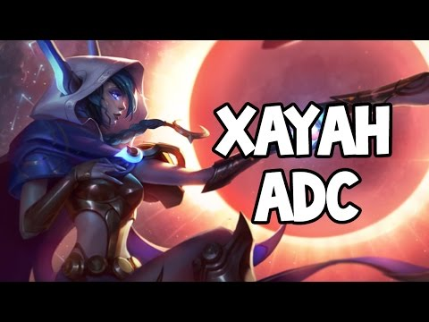 COSMIC DUSK XAYAH ADC GAMEPLAY - League of Legends