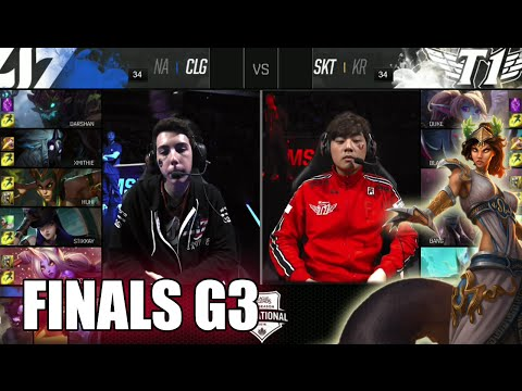 CLG vs SK Telecom T1 | Game 3 Grand Finals LoL MSI 2016 | CLG vs SKT G3 MSI 1080p