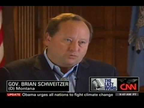 """Governor Brian Schweitzer (D-MT) on """"State of the Union"""""""