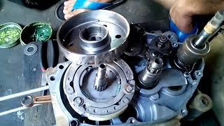 yamaha lagenda SRL110 engine assembly 4