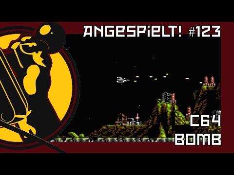 Bomb (Commodore 64) | Das wäre ihr Scramble gewesen! | Angespielt! #123