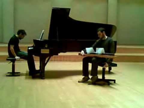 Three Songs Without Words, II. Ballad qanun and piano