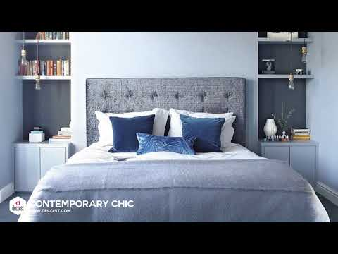 Best Gray and Blue Bedroom Ideas and Photos to Swoon Over