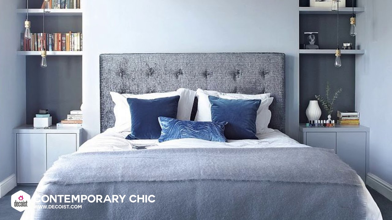 Best Gray And Blue Bedroom Ideas And Photos To Swoon Over Youtube