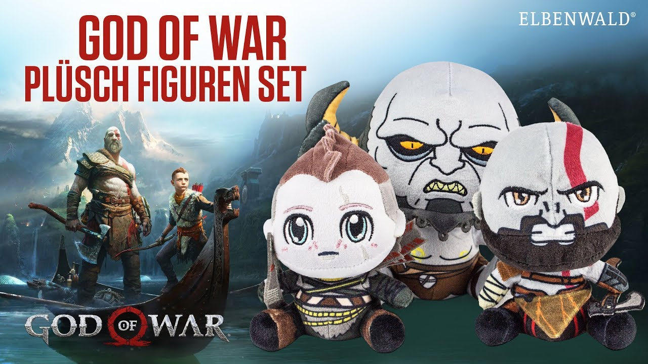 Of War Stubbins God Set Figuren Plüsch rWCBxdoe