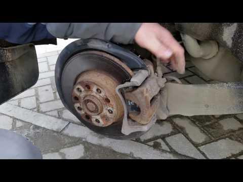 73 Как самому заменить задние колодки на Тигуане 2012 года