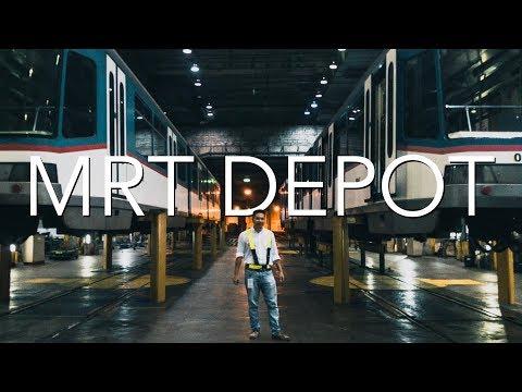 MRT 3 Depot (2018): A Place of Hope for MRT 3