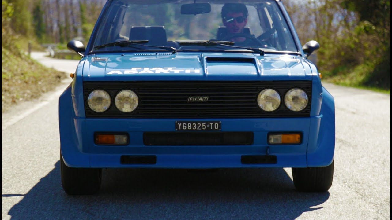 Pure Sound Fiat 131 Abarth Rally Davide Cironi Drive