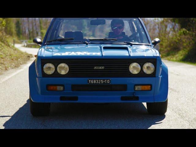 Pure Sound Fiat 131 Abarth Rally - Davide Cironi Drive Experience