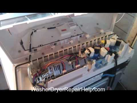 How to replace control board W10189966 on whirlpool cabrio/Kenmore