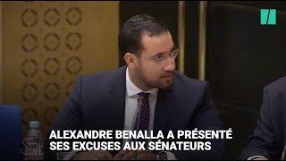 Baixar Alexandre Benalla présente ses excuses aux sénateurs de la commission d'enquête